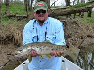Cumberland river for Fly fishing kentucky