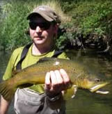 Dane Law - fly fishing guide