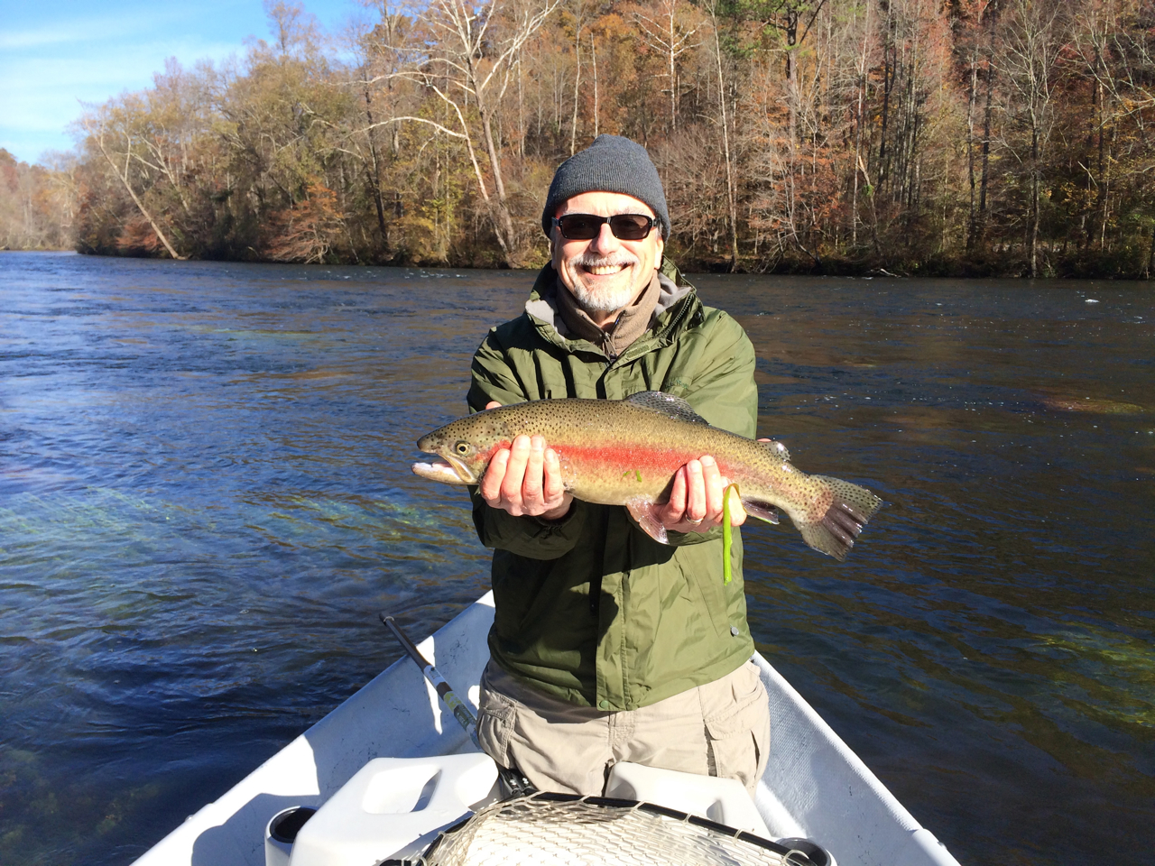 Guided fly fishing hiwassee clinich south holston for Toccoa river fishing